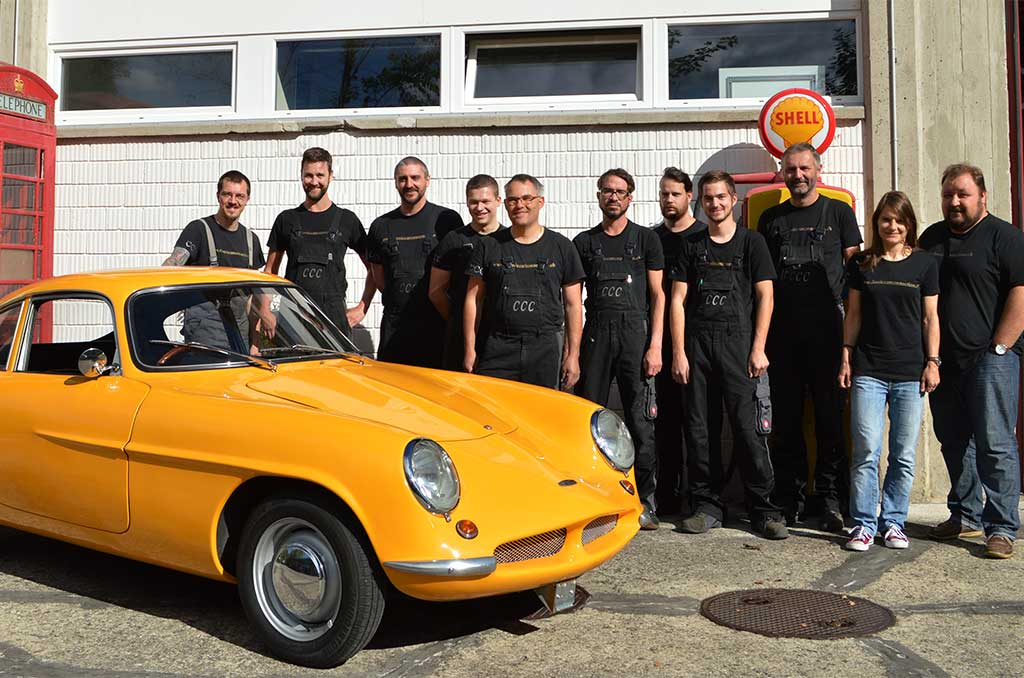 Das Team der Classic Car Connection AG in Lichtensteig Schweiz