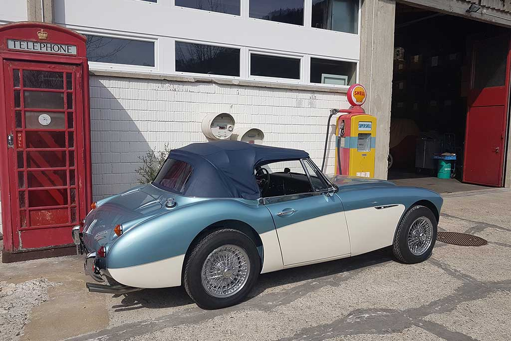 Austin-Healey 3000 - nach liebevoller Totalrestauration